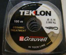 NYLON GRAUVELL TEKLON CERAMIC 100M  (0,18 mm)