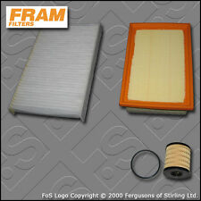 SERVICE KIT for PEUGEOT 307 2.0 HDI 16V MANUAL OIL AIR CABIN FILTERS (2004-2007)