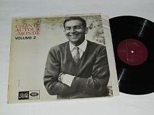 GERARD SOUZAY Chante Autour du Monde Volume 2 LP Pathe Dalton Baldwin an Piano