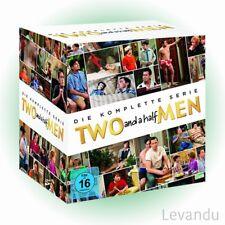 DVD-Box TWO AND A HALF MEN - DIE KOMPLETTE SERIE (Staffel 1-12) - 40 DVD's NEU