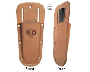 Felco Leather Pouch/Holder/Holster For Secateurs Tool With Belt Clip 910