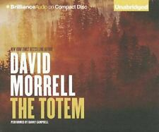 THE TOTEM unabridged audio book on CD by DAVID MORRELL - Brand New! 14 Hours!