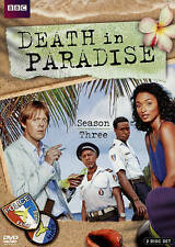 Death in Paradise: Season Three (DVD, 2015, 2-Disc Set) BBC crime drama DVD set