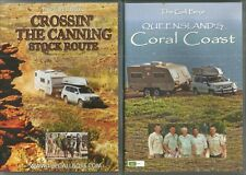 The Gall Boys Crossin' The Canning Stock Route &  Coral Coast ( 2 x DVD ) Reg 4