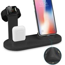 5in1 iPhone X XR XS Apple Watch AirPods Dockingstation Ladestation Halterung