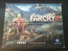 "Farcry 4 Mousepad New12.5 x 9.5""MSI Nvidia GTX 100 Million Exclusive"
