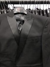 "TUXEDO MENS MANS BOYS BLACK SINGLE BREASTED DINNER FORMAL, PROM JACKET 36"" CHEST"