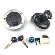 Ignition Switch Fuel Gas Cap Lock Set Fit Suzuki GSXR600/750/1000 SV650/SV1000