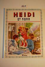 EL1 BD - Heidi et Nora