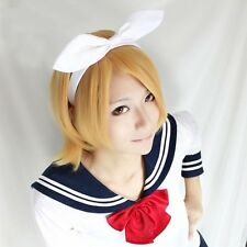 NEW High Quality Vocaloid Kagamine Magnet Rin Len Cosplay Wig Party Cos Hair