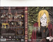 Witch Hunter Robin:VI-2002/3-TV Series Japan-[4 Episodes/100 Minutes]-DVD