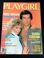 PLAYGIRL February 1984 BARBRA STREISAND Pierce Brosnan 5th FIFTH DIMENSION