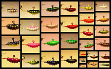 Waxy Ice jigs. Hot bait for all panfish. Only $.99 each! GLOW COLORS AVAILABLE