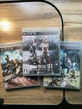 Final Fantasy 13 Trilogy Ps4 Japanese Version