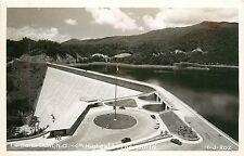 Niorth Carolina, NC, Fontana Dam, 4th Highest in the World Real Photo Postcard