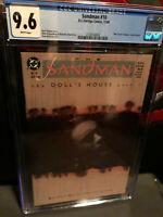 Sandman # 10 Doll House CGC 9.6 nm+ 1989 Gaiman Jones DC Vertigo Amricons
