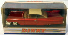 Dinky 1/43 Scale DY-7 - 1959 Cadillac Coupe De Ville - Metallic Red