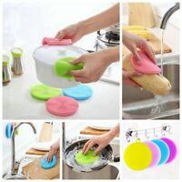 cuisine silicone - éponge brosse à vaisselle les outils de nettoyage épurateur