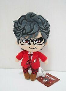 """GACKT Gakucchi Camui G School Furyu Mascot Strap 7"""" Plush TAG Toy Doll Japan"""