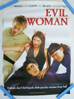 evil woman  video store Vhs original film poster movie