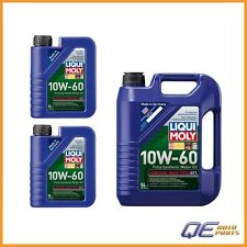 Liqui Moly 10W60 GT1 Synthetic Motor Oil 7 Quarts For: BMW M3 M5 M6 z3 M z4 M z8