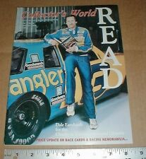 1992 Collector's World Magazine Dale Earnhardt Sr Wrangler Read Cannon Library