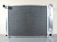 3-ROW ALUMINUM RADIATOR For Chevrolet Bel Air Biscayne Impala 1971-1973