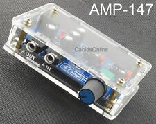 Single Power Supply Portable HIFI Headphone Amplifier, CablesOnline AMP-147