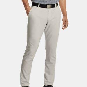 NEW Under Armour Men's Showdown Summit White Taper Golf Pants 1309546-110 38x30