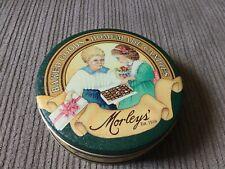 "Morleys' Baked Goods Homemade Candies 75"" Anniversary Tin, 6 1/2"" Round"