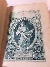 1892 Childe Harold's Pilramage Illustrated Lord Byron TY Crowell & Co