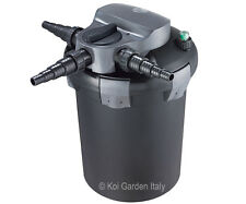 Filtro a pressione laghetto, acquario, giardino BF9000 con lampada UV-C 11 watt