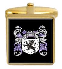 Jones Ireland Family Crest Coat Of Arms Heraldry Cufflinks Box Set Engraved