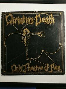 Christian Death - Only Theatre Of Pain LP - Frontier 1st Press FLP 1007