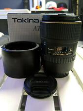 Tokina AT-X PRO 100mm f/2.8 Lens (Only Manual Focus) READ DESCRIPTION