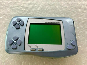 "Console Wonderswan Metallic Blue ""No Box/No Manual"" Bandai Japan Import"