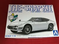 Aoshima 1/32 The Snap Kit Series Toyota 2000GT Pegasus White Painted 05A