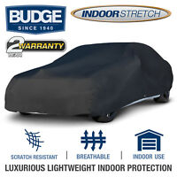 Budge Soft Stretch Car Cover Indoor Fits Cars up to 19' Long | UV Protect