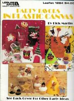 Party Favors in Plastic Canvas Leisure Arts 1284 Baby Christmas Halloween