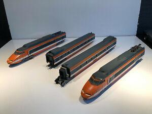 LIMA HO MOTRICE ELECTRIQUE VOITURES VOYAGEURS 1re 2èm CLASSE TGV
