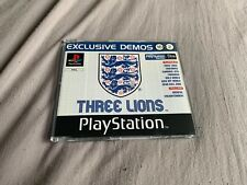 Official UK Playstation One Demo Game Disc 16 Vol 2 Three Lions PAL PS1 Rare PS5