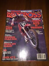 Super Motocross Magazine June 1989