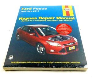 Ford Focus Repair Manual: 2012-2014 By Haynes #36035