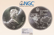 1974 Canada S$10 Ngc Ms68 Oly Map Mule Only 2 at this Gr - RicksCafeAmerican.com