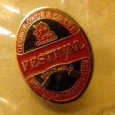 FESTIVAL BEST MILD PIN BADGE. GALES BREWERY