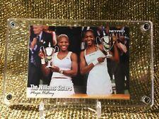 Serena & Venus Williams 2003 Tennis Grand Slam Wimbledon Netpro Rookie Card