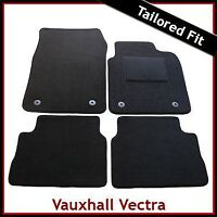VAUXHALL VECTRA C 2002-2008 Tailored Fitted  Carpet Car Floor Mats BLACK