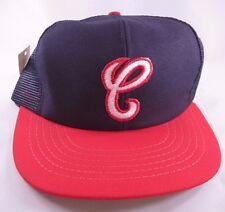 Vtg 80s Chicago White Sox Hat Cap Snapback Mesh Trucker NWT NOS Old Logo