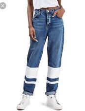 Topshop Boyfriend Plus Size Jeans for Women