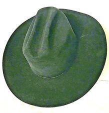 5 x BEAVER 7/1/4 VINTAGE RESISTOL BLACK COWBOY HAT